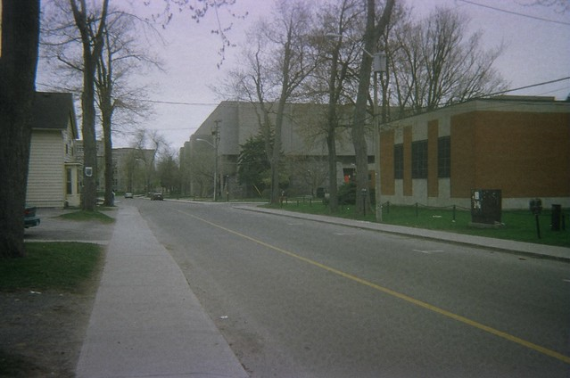 On the Queen's University campus, August 2003 (3)