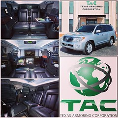 Armored Toyota Land Cruiser with our T6 ULTRA-LIGHTWEIGHT protection package and world famous CEO Luxury Interior Conversion! Fit for a head of state or a king! #toyota #landcruiser #CEO #Interior #conversion #bulletproof #CEOPackage #armoredcars #armored