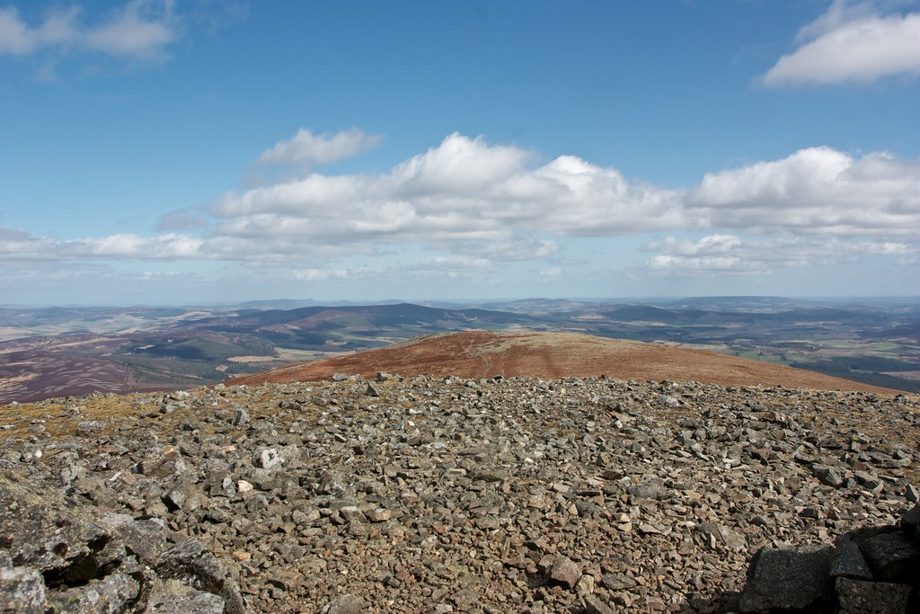 Aberdeenshire from Morven