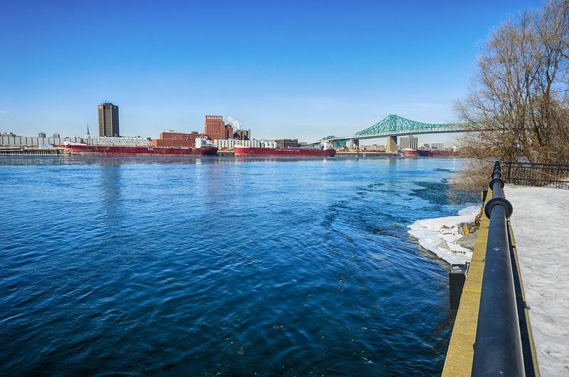 Río San Lorenzo / Saint Laurent River, Montreal