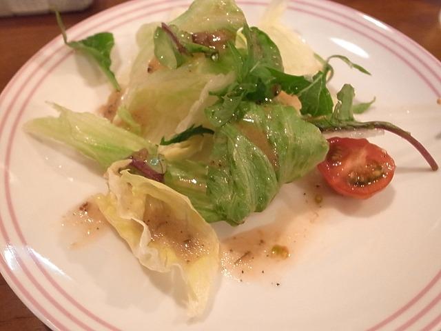 <p>イタリアンハンバーグのサラダ</p>