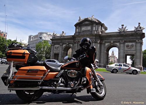 HARLEY DAVIDSON en Madrid