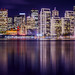 San Francisco Skyline with Reflection by rexboggs5