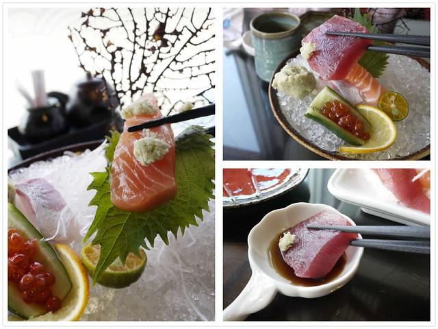 吃生魚片tip