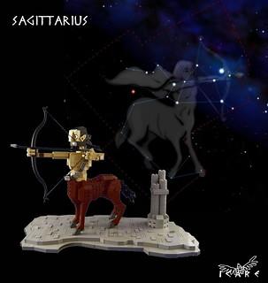 Sagittarius avec fond
