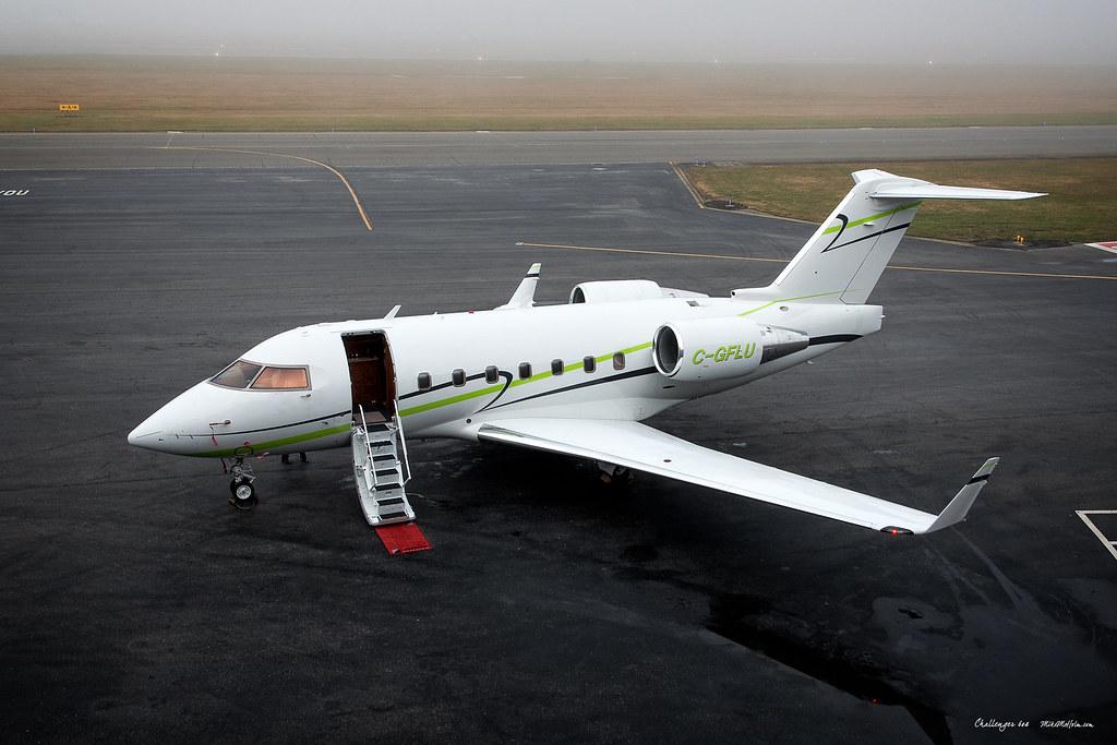 C-GFLU - F900 - Chartright Air