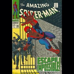 Escape Impossible! #SpiderMan #comics
