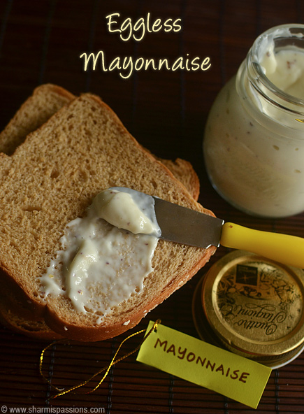 Eggless Mayonnaise Recipe