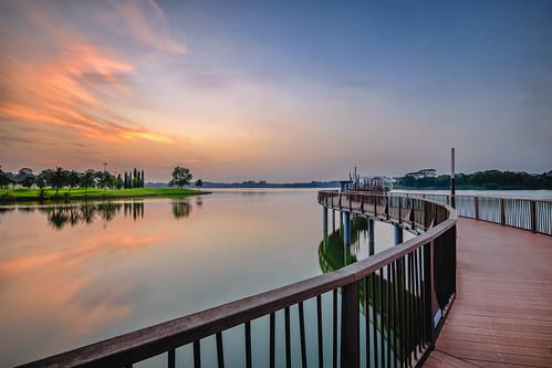 sunrise landscape singapore fujifilm yishun lowerseletarreservoir fujifilmxt1 fujifilmxf1024mm