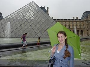 Kayla-Louvre