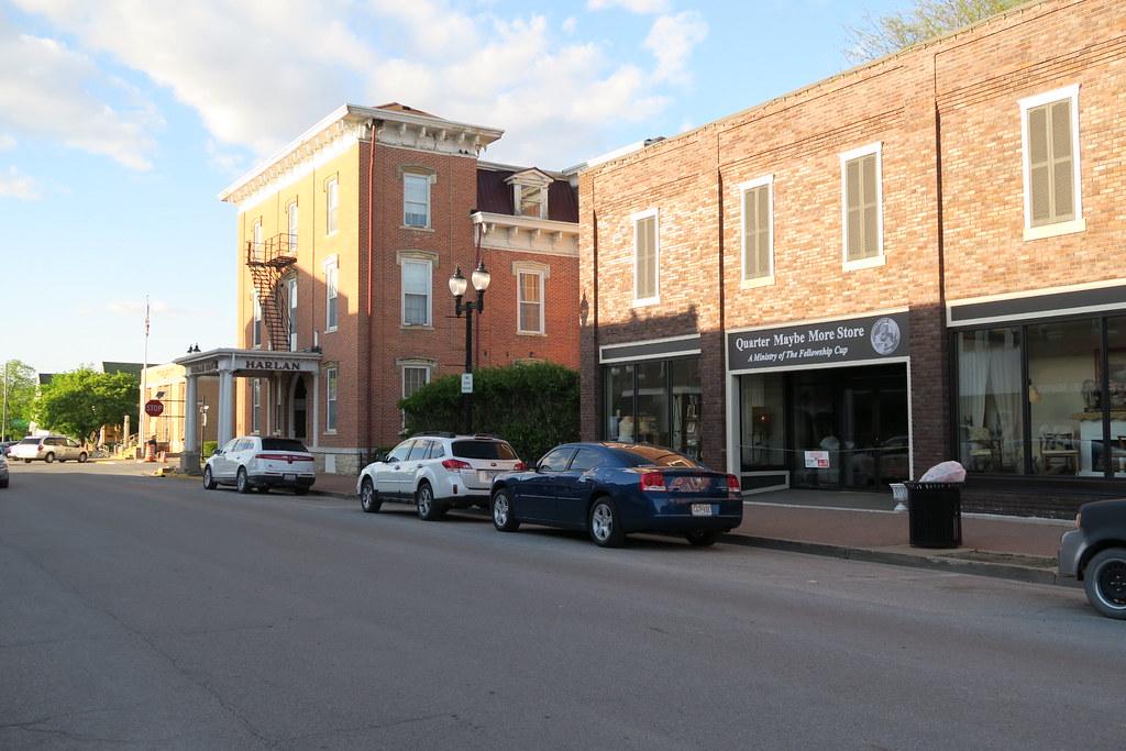 Jefferson Street, Mount Pleasant, Iowa