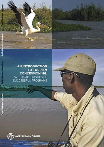 'Tourism Concessioning Toolkit in Protected Areas' authored by Anna Spenceley, Hermione Nevill, Carla Faustiano Coelho and Michelle Souto.