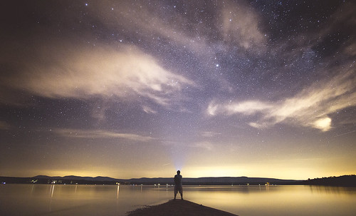 milky way wide sony mirrorless nex a6000 12mm f2 ultra lake sky sacandaga mayfield gloversville new york silhouette vignette long exposure reflection rokinon