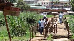 Rickety Hand-Made Toll Bridge, Lilongwe, Malawi