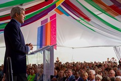 U.S. Secretary of State John Kerry addresses attendees at the Aspen Ideas Festival on June 28, 2016, at the Greenwald Pavilion at the Aspen Meadows Resort in Aspen, Colorado. [State Department photo/ Public Domain]