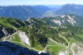 Blick von der Alpspitze Richtung Garmisch-Partenkirchen. Foto: Günther Härter.