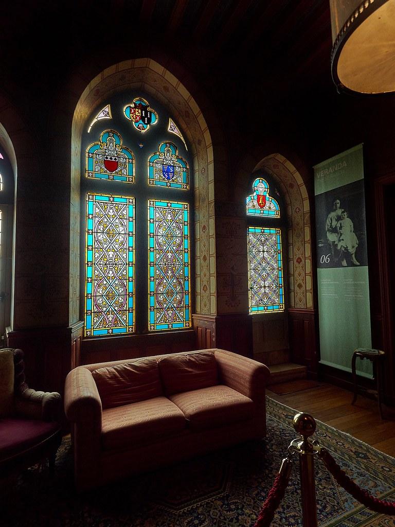 Style De Veranda Moderne chateau de puymartin-029 | le salon moderne dans le style ar