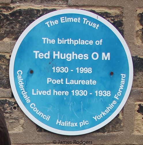 Ted Hughes blue plaque