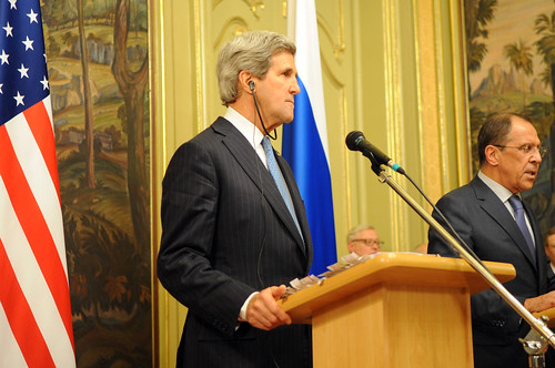 Secretary Kerry and Russian Foreign Minister Lavrov