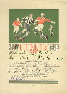 Heimdal Idrettsforening - Avdelingsmester i klassen for gutter (1947)