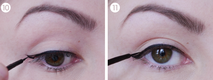 perfect cat eye liner liquid eyeliner tutorial 6