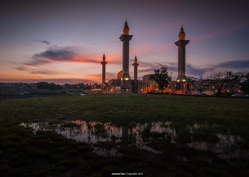|Sunset|Masjid Jelutong|