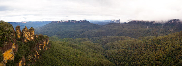 Three Sisters Panorama