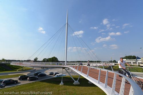 The Hovenring in Eindhoven-46