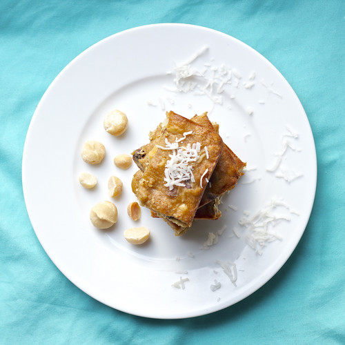 Honeymoon Blondies by Kelly Bakes
