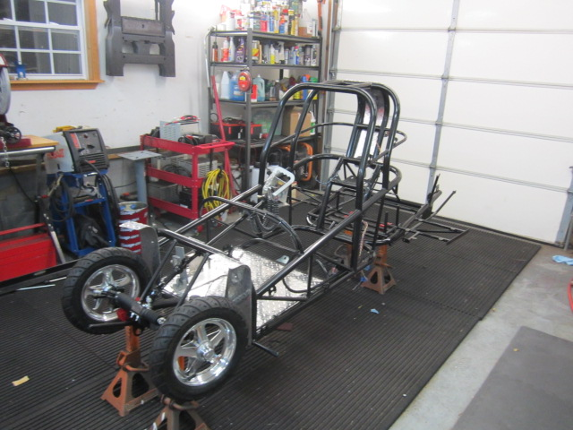 shock therapy racing s golf cart based dragster diy