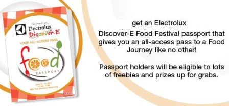 Discover-E Food Festival Passport