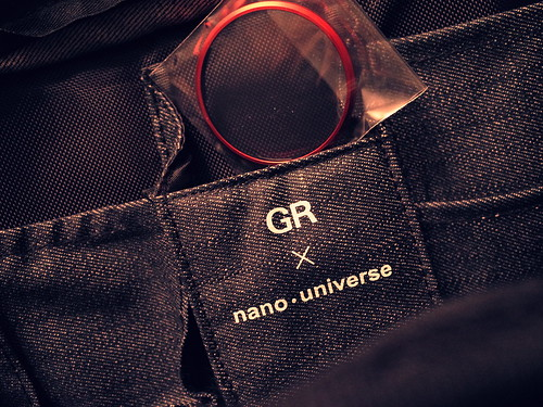 GR red ring with nano universe