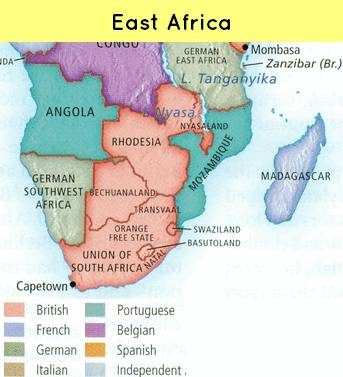 Map-East Africa
