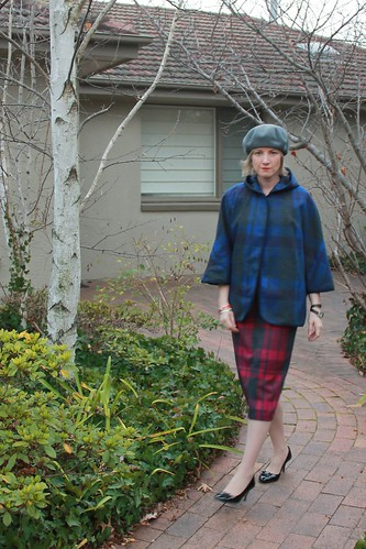 Tartan on Tartan - NY Cape v Charlotte Skirt