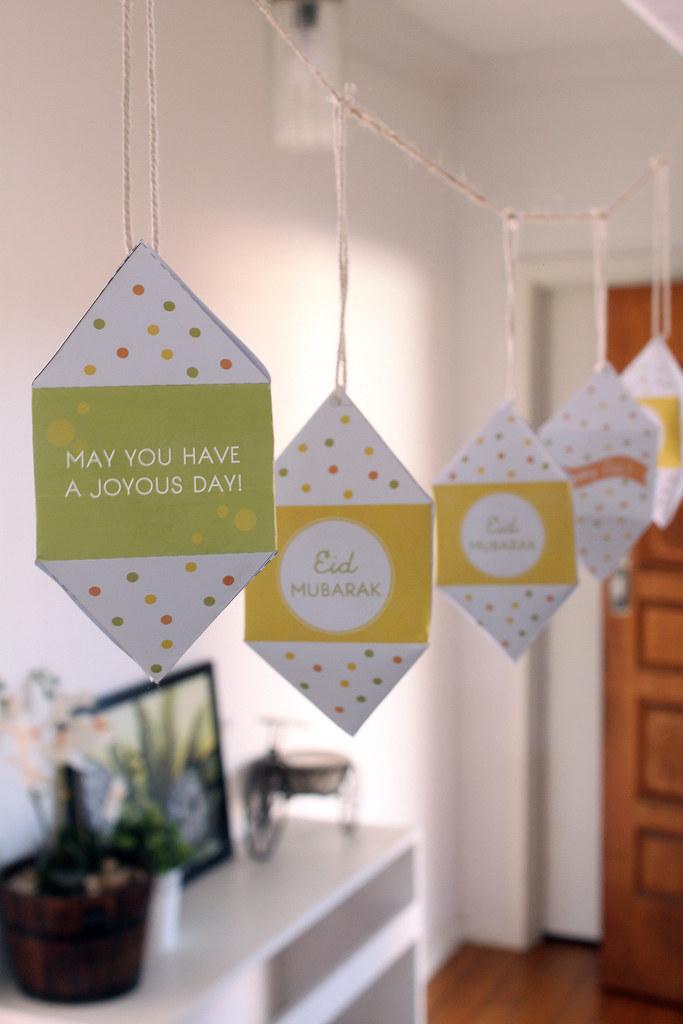 In My Studio Freebie 1 Printable Diy Eid Paper: islamic decorations for home