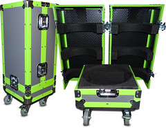Neon Flight Case