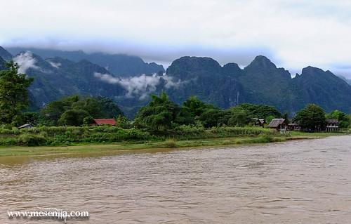 Paisatge de Vang Vieng