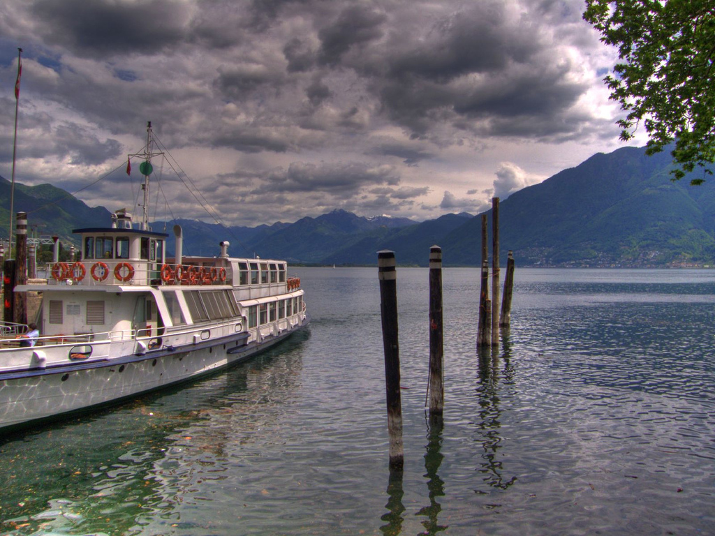 Locarno. Vista sobre el lago. Autor, Matthias Burch