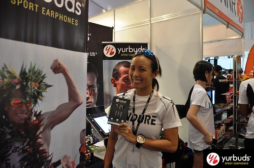 yurbuds at 2013 Cobra Ironman 70.3 Philippines
