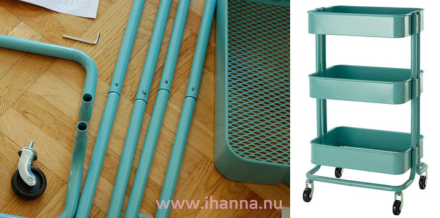 iHanna's Råskog Kitchen Cart Not in Kitchen, by IKEA, love letter by iHanna