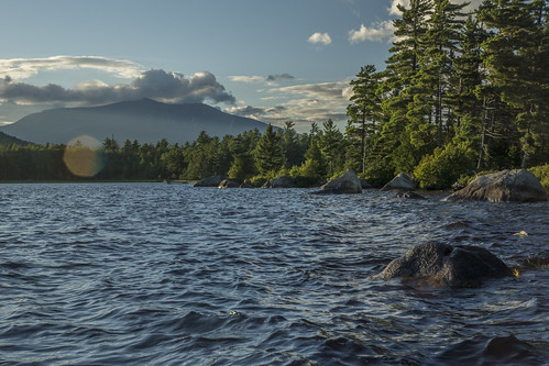 Millinocket Lake Camping Trip