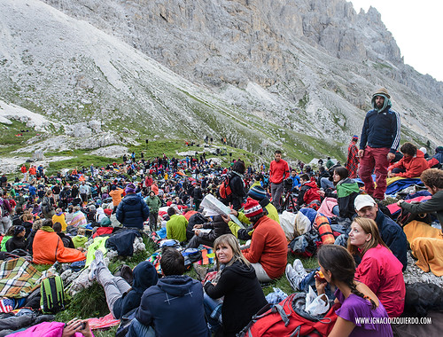 Dolomites - Val di Fassa - Vinicio Capossela at Vajolet 10