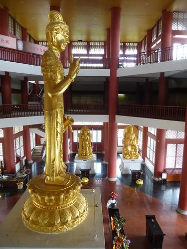 Yunnan13-Dali-3. Salle de cuivre et pluie (7)