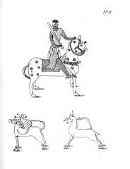 Ridder til hest, griff og enhjørning (1823)