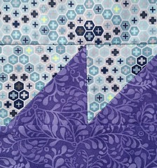Tula Pink's City Sampler - Block 38