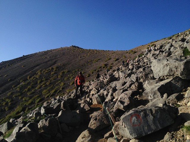 乗鞍岳 登山道