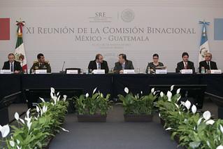 Concluyó la XI Reunión de la Comisión Binacional México–Guatemala 3