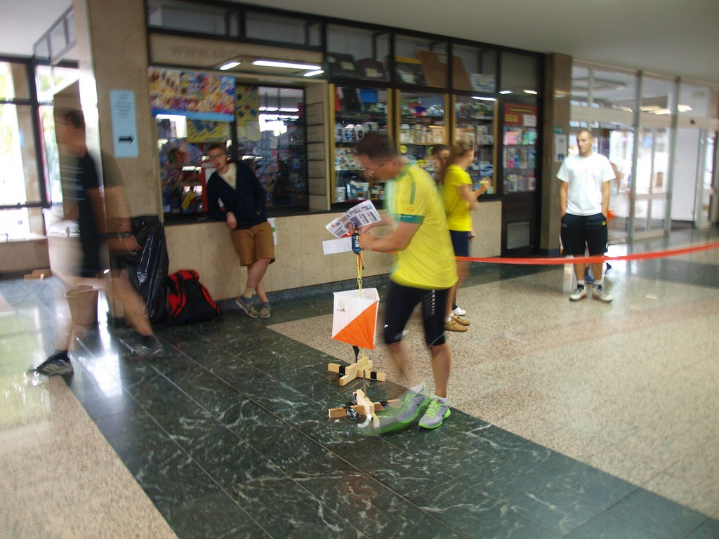 Indoor orienteering: pictures