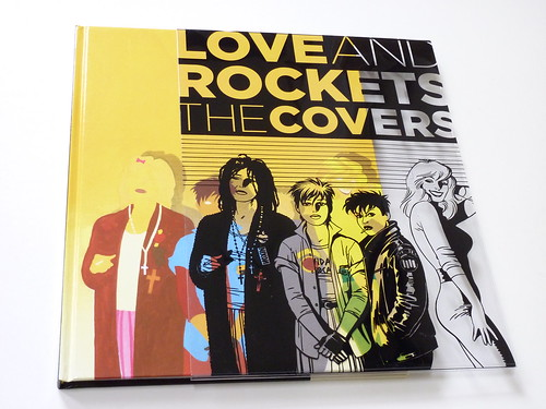 Love and Rockets: The Covers by Gilbert, Jaime, and Mario Hernandez - cover overlay