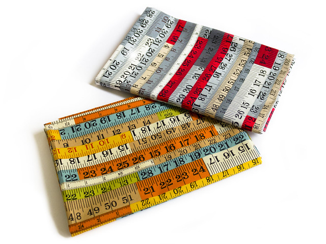 Measuring tape design fabric